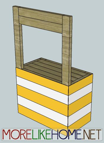More Like Home: Day 11 - Build a Lemonade Stand