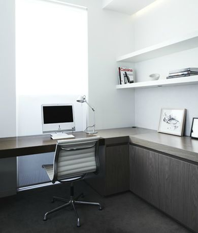 | STUDIOS | #Shareen Joel. Simple yet timeless #home-office.