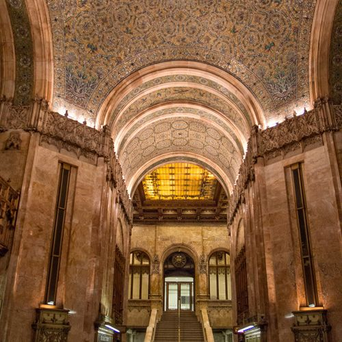 Ogle the Woolworth Building's Stunning, Rarely Open Lobby--Love the beauty..they don't build'em like this anymore.