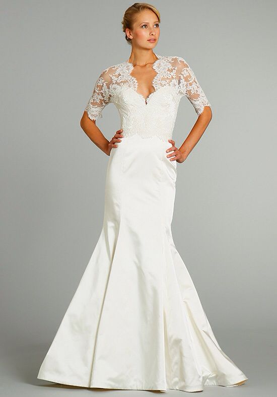 Fall 2012 Wedding Dresses JLM Couture Bridal Jim Hjelm 8256 Front And Fashion Back