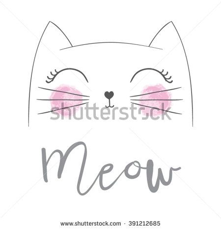 Cat print,cat graphic,cat illustration,canvas print,cat pattern,cat design,cat graphic,cat wallpaper,adorable cat,Funny cat,T-shirt Print,i love you,Valentine's Day,animal print,pink cat,cat vector