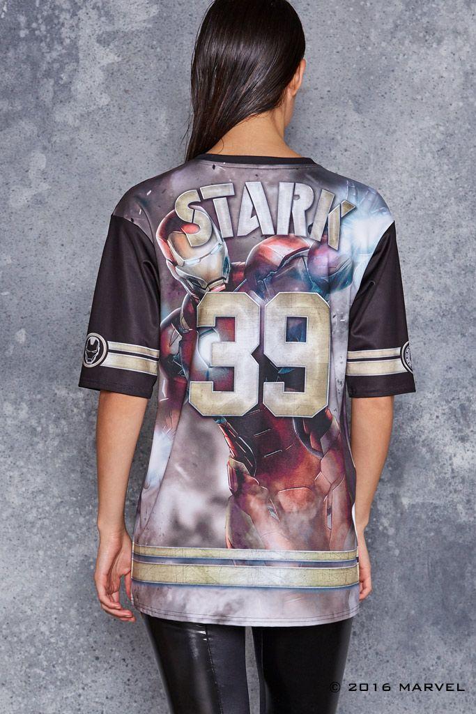 Team Iron Man Touchdown ($120AUD) by BlackMilk Clothing