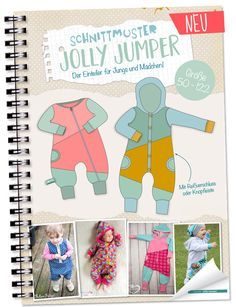 FREEBOOK: Jumpsuit in Gr.50 und 56/62! Baby-Strampler selber nähen