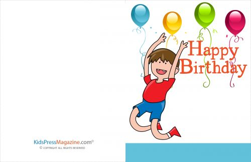 Birthday Cards #19   #birthday #balloons #boy