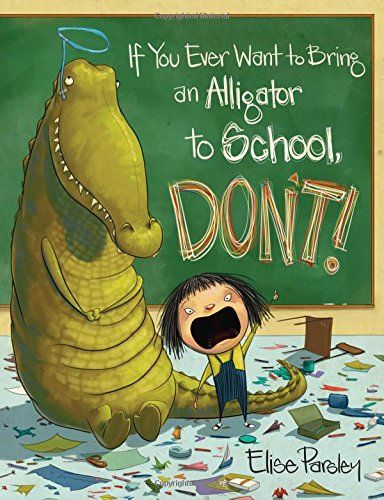 When her teacher tells little Magnolia to bring something from nature for show-and-tell, she brings an alligator. And is determined to have the best show-and-tell of all - until her reptile starts getting her into some major trouble. Now it's up to Magnolia to find a way to send this troublemaker home - but what could possibly scare an alligator away?