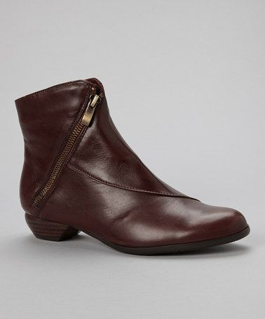 Another great find on #zulily! Vino Fedora Leather Ankle Boot by Everybody Shoes #zulilyfinds