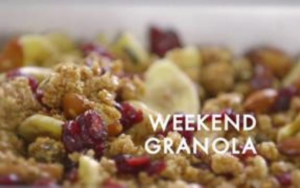 Weekend Granola Recipe by Siba Mtongana
