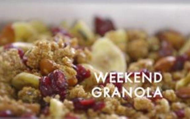 Weekend Granola Recipe by Siba Mtongana