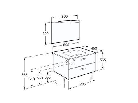 Résultats de recherche d\u0027images pour « hauteur meuble salle de bain - logiciel pour dessiner maison
