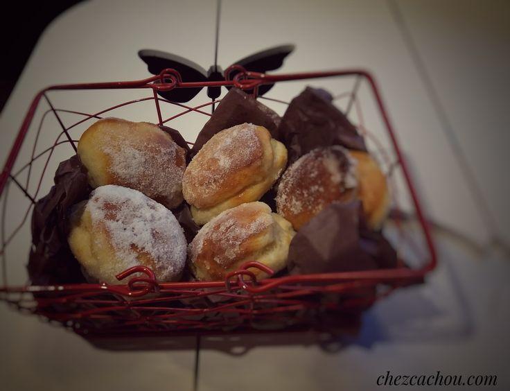 Briochettes version beignets au four