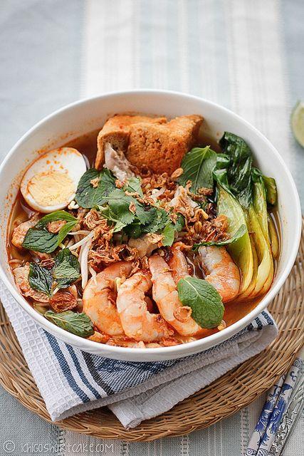 Malaysian Prawn Noodles...