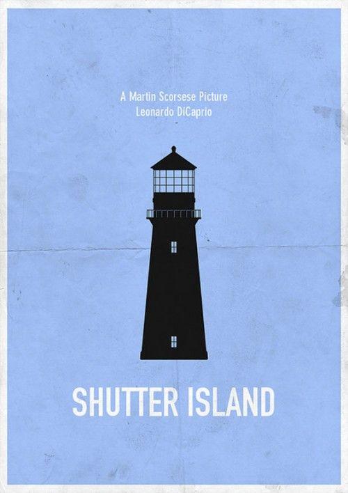 Shutter Island - Affiche de film minimaliste
