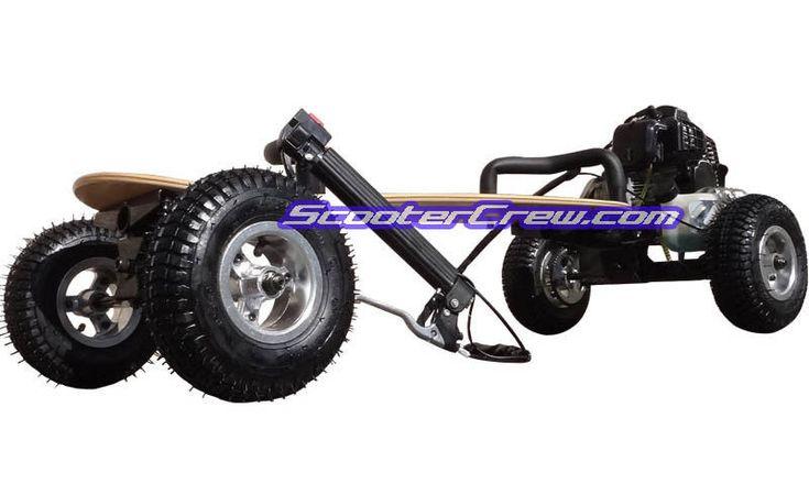 http://www.ebay.com/itm/Offroad-49cc-Gas-Powered-Skateboard-Mountain-Board-Scooter-SkaterX-2-Stroke-/231189788885