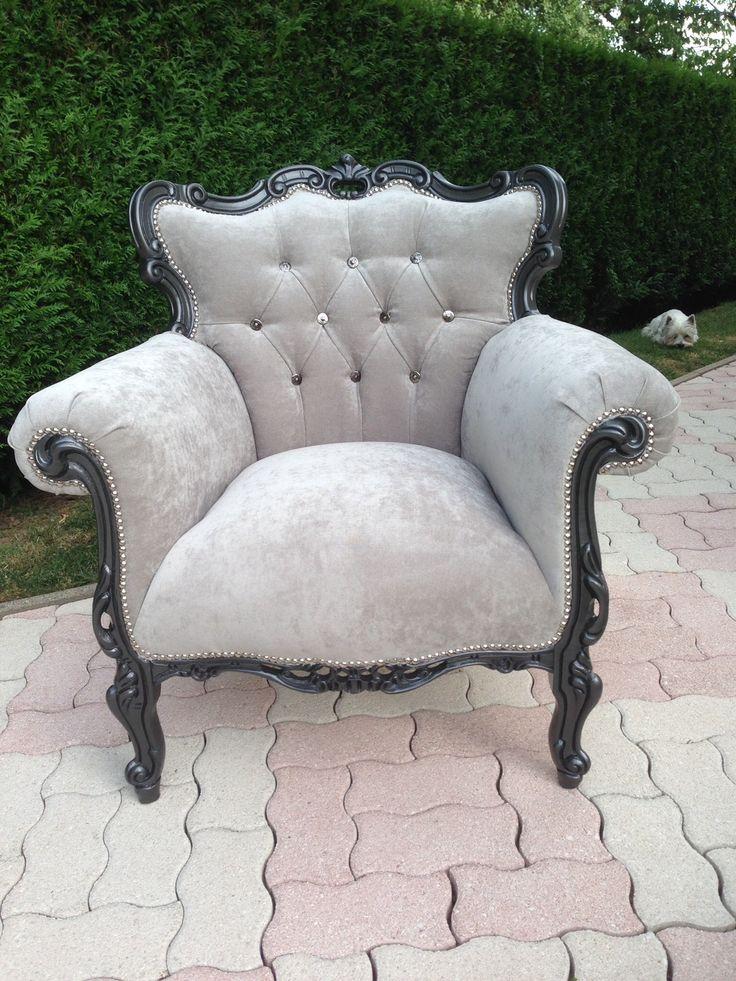 1000 id es propos de fauteuil baroque sur pinterest chaise baroque salon baroque et canap. Black Bedroom Furniture Sets. Home Design Ideas