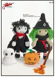 79 Halloween Free Crochet Amigurumi Patterns from https://freeamigurumipatterns.wordpress.com/category/halloween/