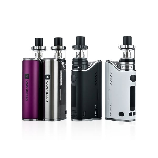 Vaporesso Attitude 80W TC Starter Kit - What''s Included:1 x Vaporesso Attitude Starter Kit1 x 0.5 ohm Clapton Traditional Coil1 x 4ml Glass Segment Reservoir Extender1 x Spare O-Ring Kit1 x Micro USB Cable1 x User ManualSpecs & FeaturesSingle High Amp 18650 Batteries - Not IncludedMaximum Wattage Output : 5-200WTemperature Control Range: 280-600FMin Atomizer Resistance: 0.05ohmVaporesso OMNI Board ChipsetSupport Nickel, Titanium, and Stainless Steel Heating ElementsTemperature Coefficient…