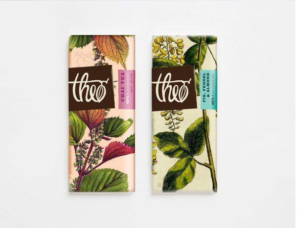 Theo Chocolate by Ashley Flanagan, via Behance