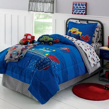 Jumping Beans Monster Truck Bedding Coordinates