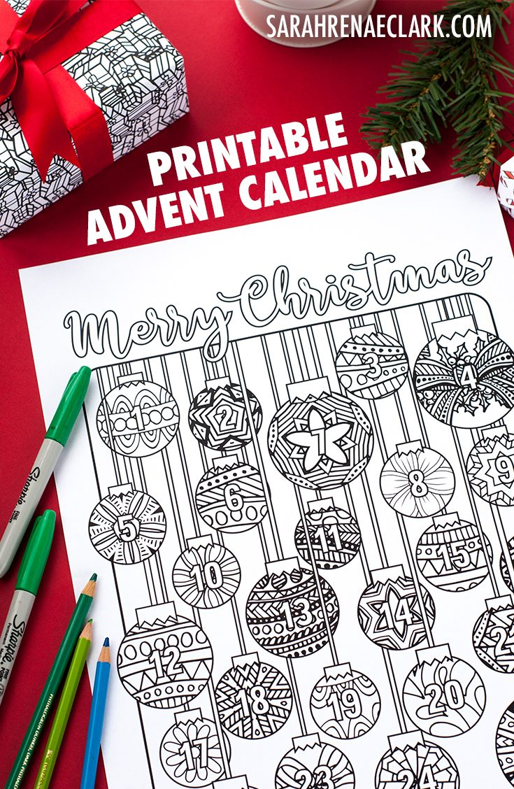 Coloring Page Advent Calendar A No Sugar Advent Calendar Alternative For Christmas Find More Coloring Books Advent Coloring Christmas Printable Activities [ 1128 x 735 Pixel ]