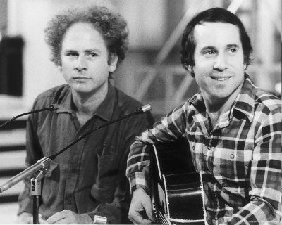 Simon & Garfunkel, I love everything about these guys. I want to wake up and make breakfast while listening to Cecilia, man.