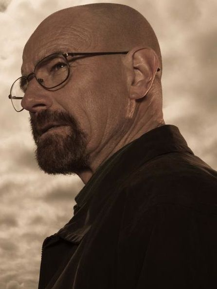 "Bryan Cranston as Walter ""Heisenberg"" White (Breaking Bad)"