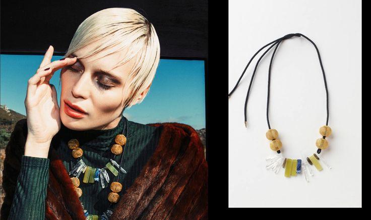 Vetiver Necklaces, Buy online: www.pichulik.com/shop