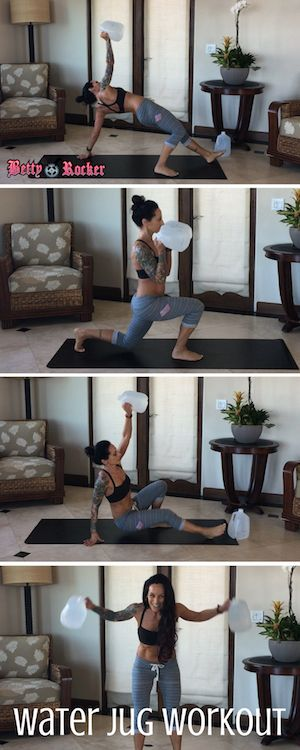 Try these awesome moves for your BOOTY, HAMSTRINGS and BACK! Click for the video!