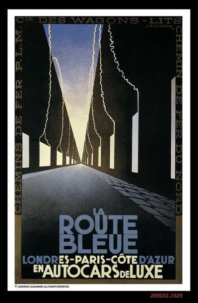 LA ROUTE BLEUE 1929