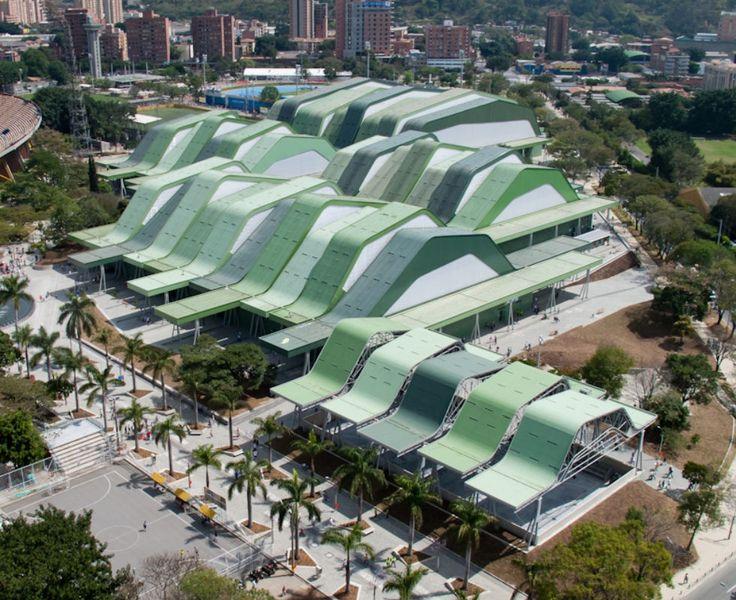 Unidad Deportiva Atanasio Girardot, Medellín, Colombia - Giancarlo Mazzanti/Plan B