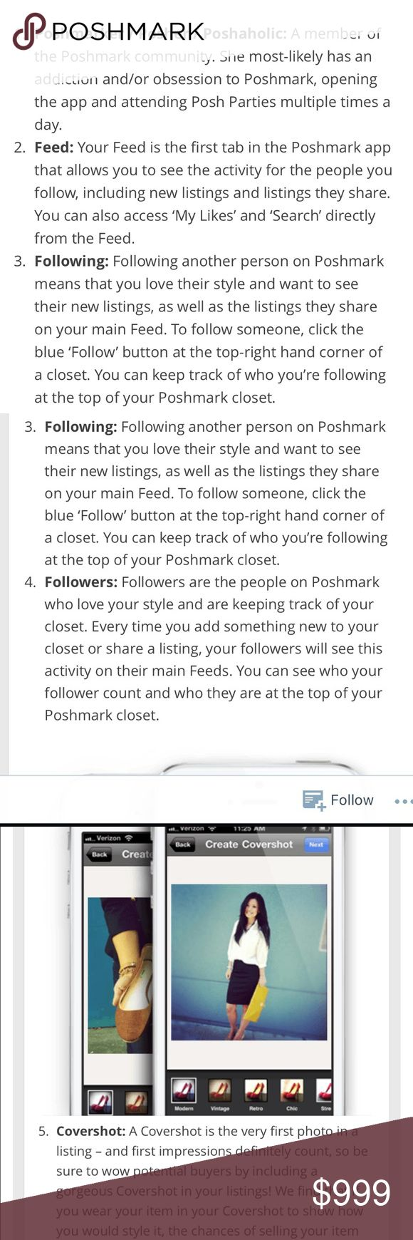 COMMON POSH WORDS USED Poshmarker / Posher / Poshaholic: A member of the Poshmark community. She most-likely has an addiction and/or obsession to Poshmark, opening the app and attending Posh Parties Other