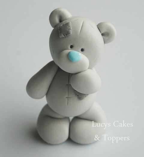 Tatty Bear Wedding Cake Toppers