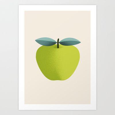 Apple 31 Art Print by Rhett