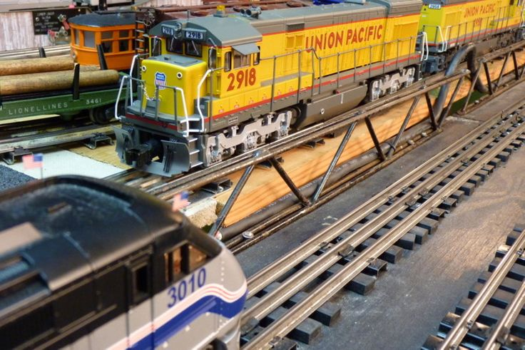 Photo of Union Pacific in O-Gauge by Lionel