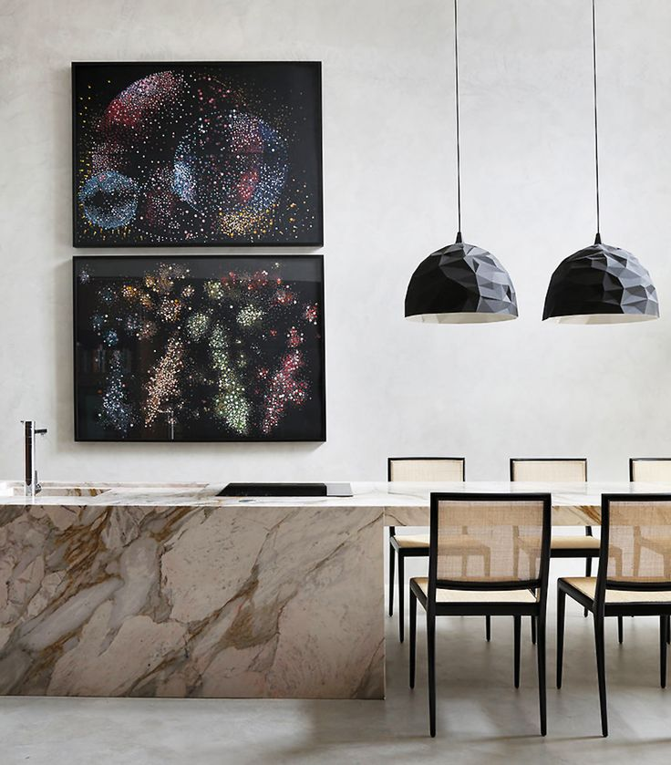 An Incredible Interiors Tour Of The MA House By Studio Guilherme Torres,  Featuring On Trend Muted Colours.