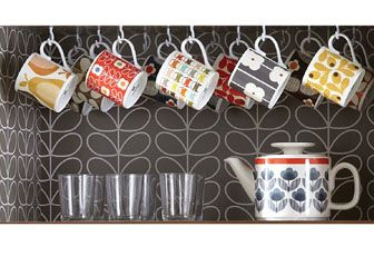 Orla Kiely cups and mugs on sale at Contemporary Pieces Australia.