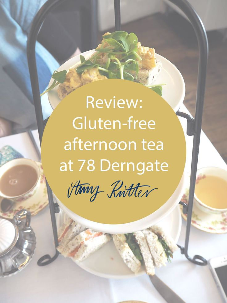 Gluten-free afternoon tea review at The Dining Room, a vintage tearoom at 78 Derngate in Northampton