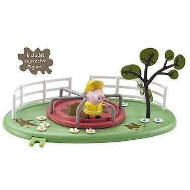 Peppa Pig Playground Roundabout Playset