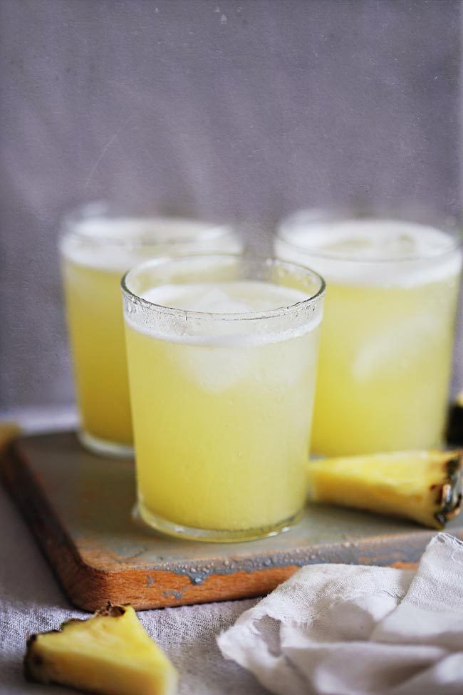 Skinny and Easy Piña Colada Recipe with Coconut Water