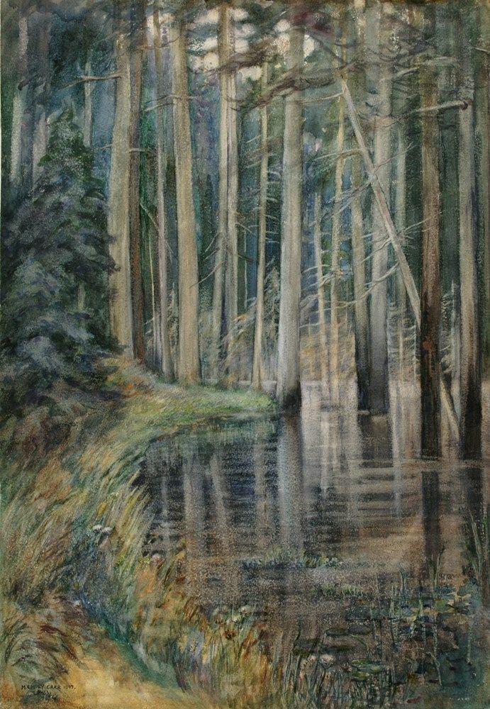 Forest Scene. 1909. Emily Carr