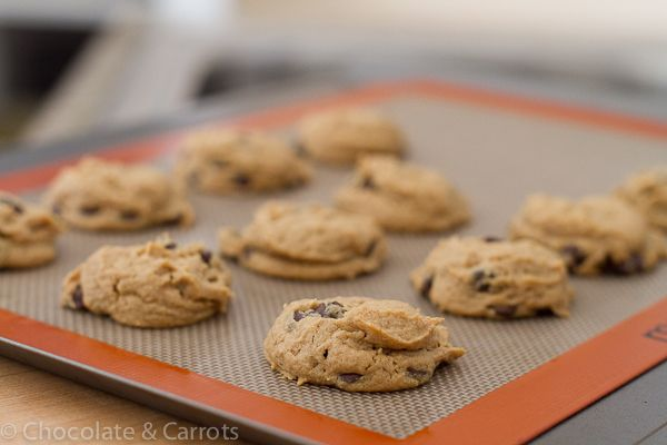 Flourless PB Chocolate Cookies-0386
