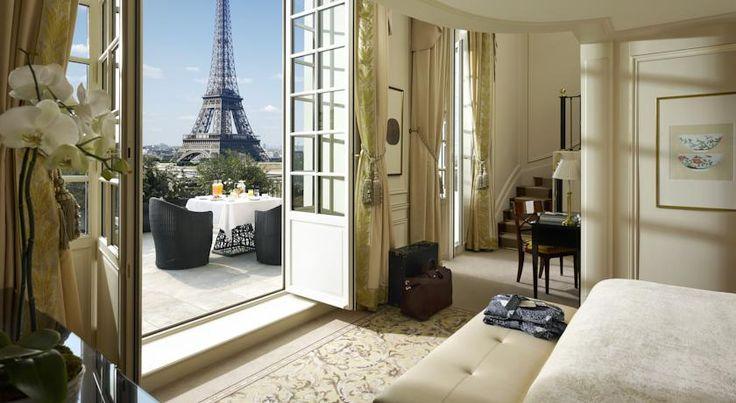 泊ってみたいホテル・HOTEL|フランス>パリ>エッフェル塔とセーヌ川からわずか600mの場所にある豪華な高級ホテル>シャングリ ラ ホテル, パリ(Shangri-La Hotel, Paris)