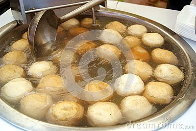 Chinese food: fish balls, Shenzhen