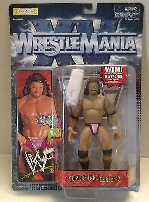 (TAS012602) - WWF WWE Vintage Wrestling Figure Jakks WrestlingMania - Val Venis