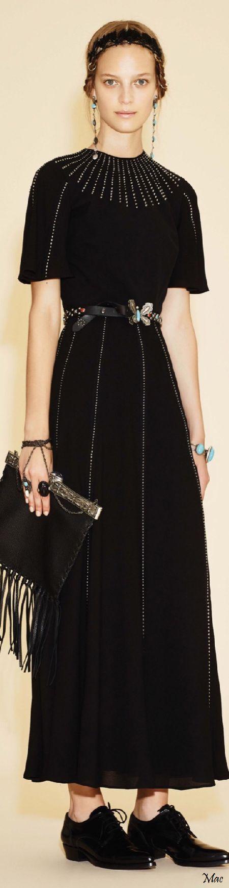 Resort 2016 Valentino black dress