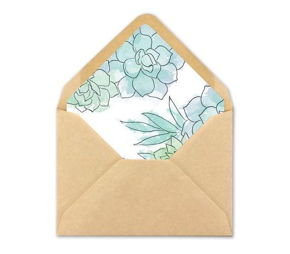 The 25+ best Wedding envelope liners ideas on Pinterest Print - sample envelope liner template