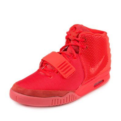 """Nike Mens Air Yeezy 2 SP """"Red October"""" Red Synthetic"""