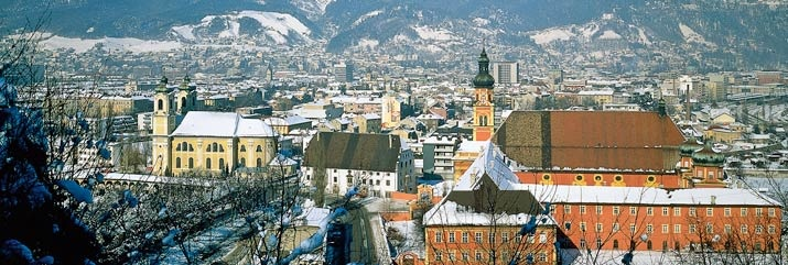 A Shot of Innsbruck in winter