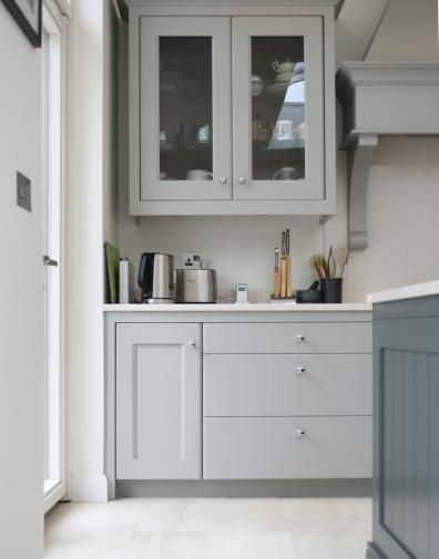 Plain english kitchen by noel dempsey lamp room grey fb for Plain english cupboards