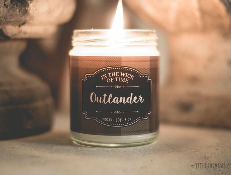 "Outlander Candle by In the Wick of Time. Smells like ocean and heather! (MORE ON: ""Outlander Costumes, Music, Videos, BTS, Merchandise"" board.)"