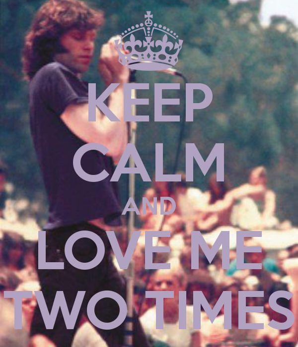 Jim Morrison keep calm